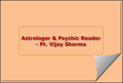 Astrologer & Psychic Reader - Pt. Vijay Sharma - Astrologers & Psychics - 604-375-4578