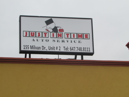 Just In Time Auto Service - Car Repair & Service - 647-748-8111