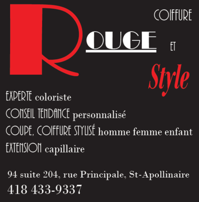 Rouge Coiffure Et Style - Rallonges capillaires