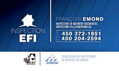 Inspection EFI - Peintres - 450-204-2594