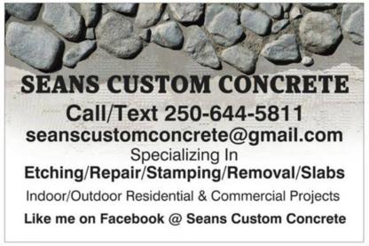 Concrete Contractors in Williams Lake BC | YellowPages ca™
