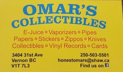 Omar's - Sports Cards & Memorabilia