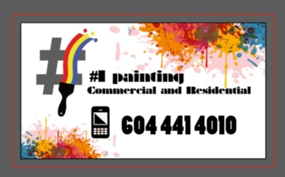Number 1 Painting - Painters - 604-441-4010