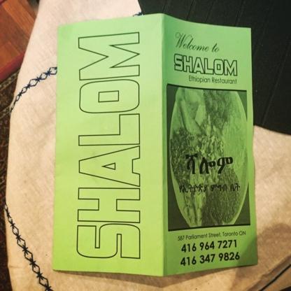 Shalom Ethiopian Restaurant - Restaurants
