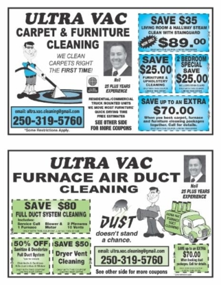Ultra Vac Carpet Cleaning - Carpet & Rug Cleaning