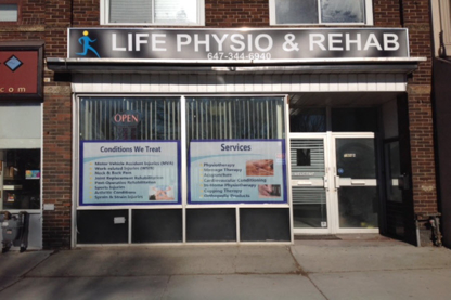 Life Physio & Rehab - Physiotherapists - 647-344-6940