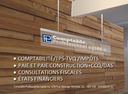 PL Comptable Professionnel Agréé Inc - Accountants - 514-903-4113
