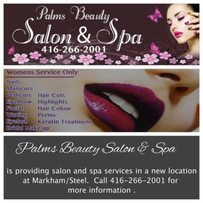 Palms Beauty Salon & Spa - Hairdressers & Beauty Salons - 416-266-2001