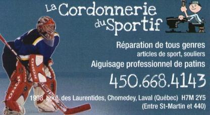View La Cordonnerie du Sportif's Pont-Viau profile