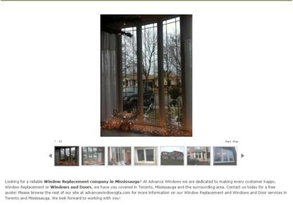 Advance Windows & Doors - Portes et fenêtres - 647-896-9662