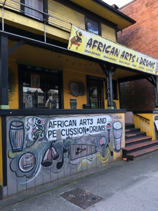 African Arts/Percussions - Musical Instrument Stores