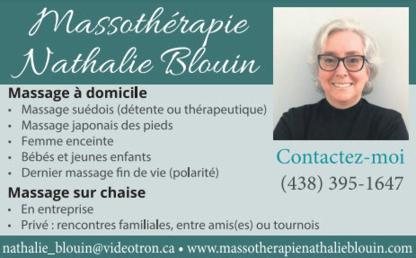 View Massothérapie Nathalie Blouin's Saint-Antoine-sur-Richelieu profile