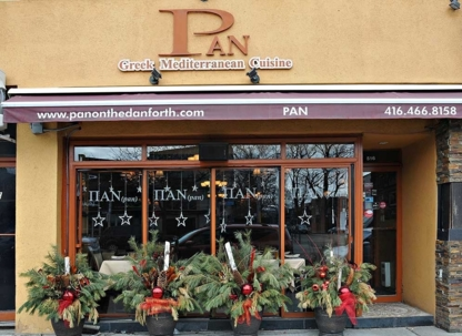 Pan on the Danforth - Mediterranean Restaurants - 647-361-5690