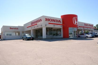 Dalt's Honda - New Car Dealers - 705-325-2396