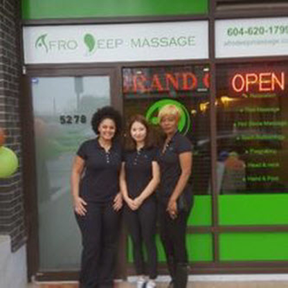 Afro Deep Massage - Registered Massage Therapists - 604-620-1799