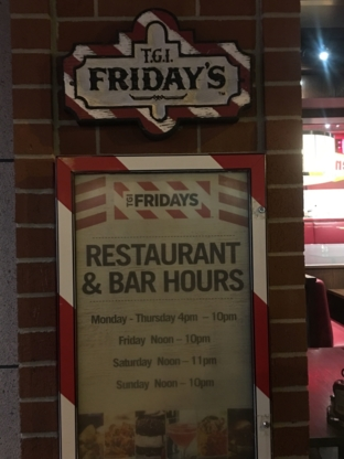 TGI Friday's - American Restaurants - 905-353-4007