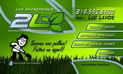 Les Entreprises 2L - Lawn Maintenance - 819-592-6600