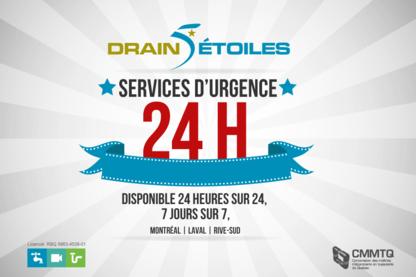 Drain 5 Étoiles - Plumbers & Plumbing Contractors - 514-316-1043