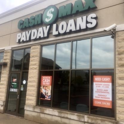 CashMax - Loans - 905-728-3215