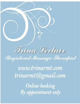 Voir le profil de Trina Leclair, Registered Massage Therapist - Vancouver