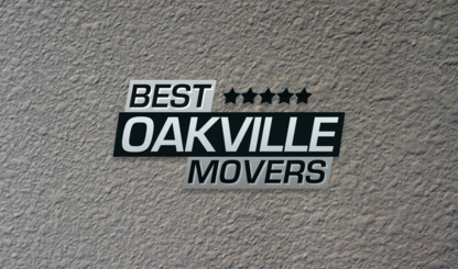 Best Oakville Movers - Déménagement et entreposage - 289-291-5257