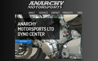 Anarchy Motorsports Ltd - Pièces de motos et de scooters