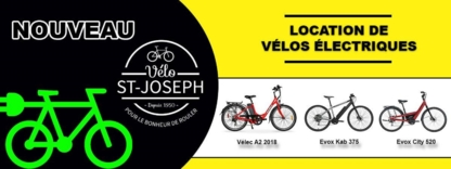 Vélo St-Joseph - Bicycle Stores - 450-492-5073