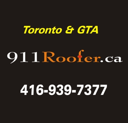 911 Roofer - Roofers - 416-939-7377