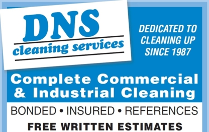 DNS Cleaning Services - Janitorial Service - 905-436-7458