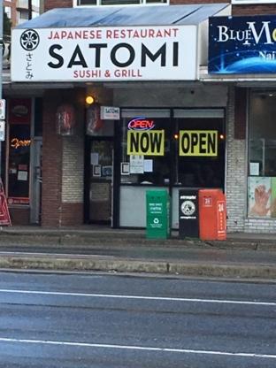 Satomi Sushi - Sushi & Japanese Restaurants - 604-437-6405