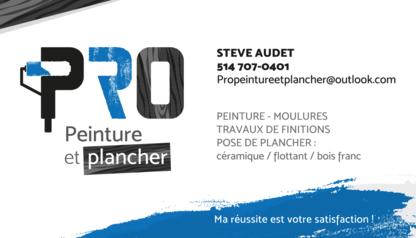 Pro Peinture et Plancher - Floor Refinishing, Laying & Resurfacing