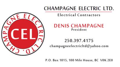Champagne Electric Ltd - Electricians & Electrical Contractors