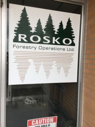 Rosko Forestry Operations Ltd - Compression et collecte de déchets industriels - 705-568-8220