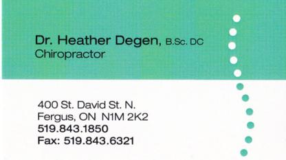 Eveleigh Chiropractic Office - Chiropractors DC - 519-843-1850