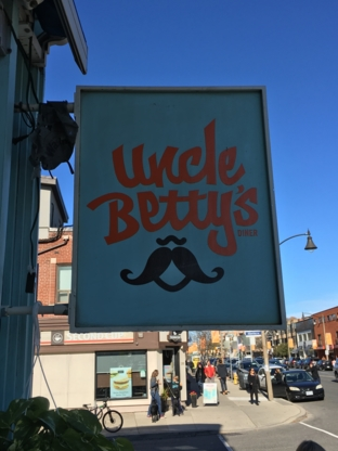 Uncle Betty's Restaurant - Vegetarian Restaurants - 416-551-1263