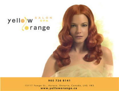 Yellow Orange Salon & Spa - Waxing - 905-726-8141