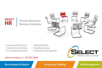 View Select People Solutions's Lethbridge profile