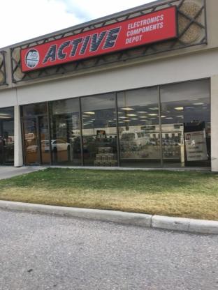 Active Tech Electronics Inc - Electronics Stores - 403-291-5626