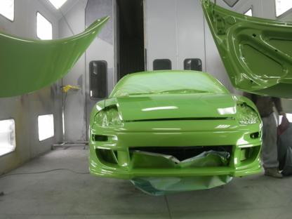 Atelier MB - Marco Boilard - Réparation de carrosserie et peinture automobile - 418-849-1999