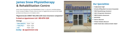 James Snow Physiotherapy - Physiotherapists & Physical Rehabilitation