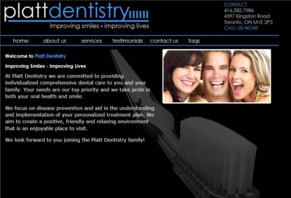 Cedarbrea Dental Corporation - Dentists - 416-282-7986