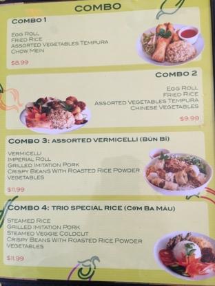 Veggie Vietnam Restaurant - Restaurants végétariens - 506-854-7170