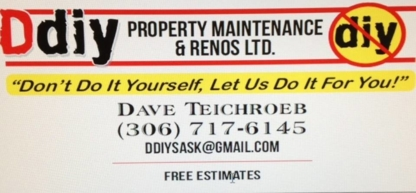 DDIY Property Maintenance & Renos Ltd - Roofers