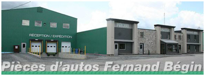 Pièces d'Autos Fernand Bégin Inc - Used Auto Parts & Supplies - 418-228-2413