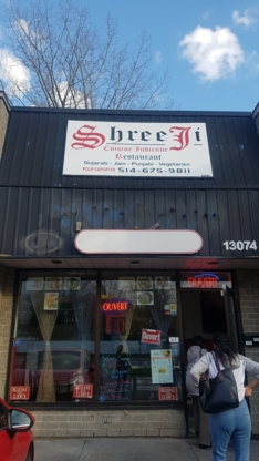 Restaurant Shree Ji - Restaurants indiens - 514-675-9811