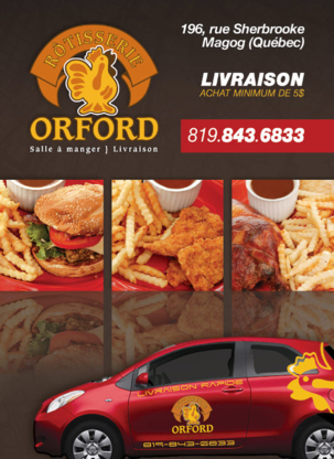 Rotisserie Orford - Rotisseries & Chicken Restaurants - 819-843-6833