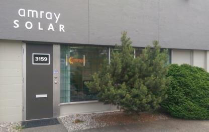 Amray Solar - Systèmes et matériel d'énergie solaire - 604-559-4998