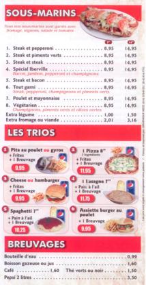 Pizza Iberville - Pizza et pizzérias - 450-376-1999