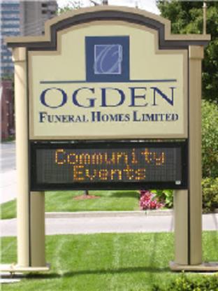Ogden Funeral Homes - Funeral Homes - 416-652-5211