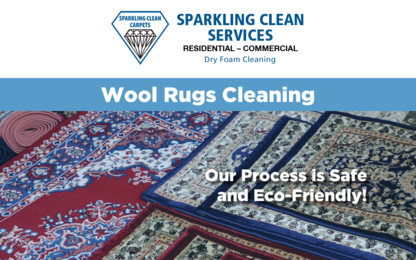 Sparkling Clean Carpets - Carpet & Rug Cleaning - 905-379-1363